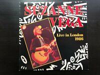 """Suzanne Vega """"Live In London 1986"""" Rare Australian Press A&M Label VG+/ Ex Con"""