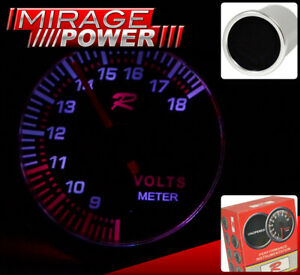 Universal Racing Monitor Display Meter Dial Needle Gauge Motor Voltage Battery