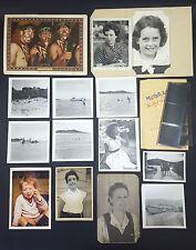 14 Vintage Black & White Photographs Landing Ship WWII Army Buddies Gay Interest