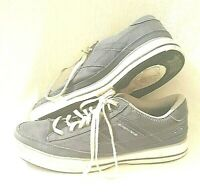Skechers Blue Canvas Trainers Size 8 - Good Condition
