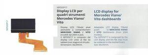 Display LCD for Mercedes Viano/Vito dashboards quadri strumenti