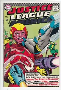 Justice League of America # 50 FN- (5.5). Batman. DC. OW pages