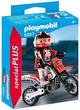 CS9357 Piloto motocross 9357 playmobil,especial,special plus