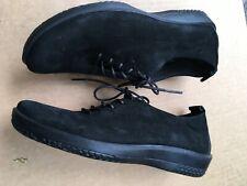Arcopedico Black Oxfords Comfort Shoes Size 38 EU Faux Suede US 7 - 7.5