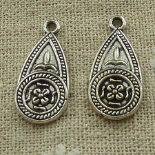free ship 120 pieces tibetan silver nice charms 25x11mm #3641