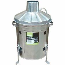 DRAPER Galvanised Mini Incinerator (15L) [53250]