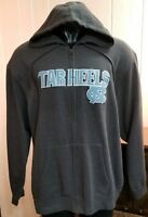MAJESTIC SECTION 101 Men's NCAA Carolina Tarheels Full Zip Hoodie Sweatshirt XL