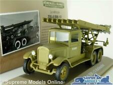 ZIS 6/BM-13 KATIOUCHA MODEL TRUCK LORRY 1:43 SIZE MILITARY ARMY ROCKET LAUNCH T3