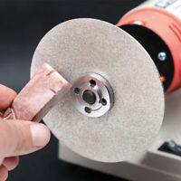 8'' Diamond Coated Flat Lap Jewelry Wheel Polishing Grinding Disc 46~2000 Grit