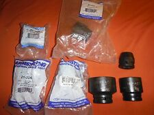 "7 Armstrong Impact Sockets 3/4"" Drive 6 & 8 pt. *Read* 1-7/16, 1-3/8 Matco"