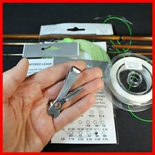 Fly Line 5wt Weight Forward Floating + 20 lbs Backing + 5X Leaders + Clip/Nail