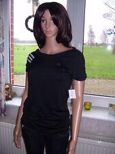 Adidas CT Q2 Tee Shirt T Shirt Sportshirt schwarz ClimaCool Kurzarm XS M neu