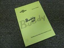 2011-2014 Genuine Scooter Buddy 125 Shop Service Repair Manual 2012 2013