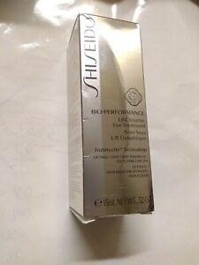 Shiseido  Bio-Performance LiftDynamic Eye Treatment - 0.52oz, New, Sealed