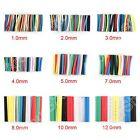 21-497Pcs 7 Colors 9 Sizes Heat Shrink Tubing 2:1 Sleeve Wrap Assortment Kit BS4