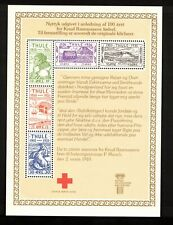 Denmark 1979 Thule 1935 Reptint Souvenir Sheet of 5 Stamps