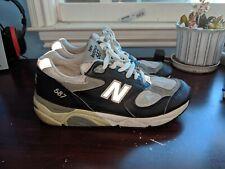 6e4b70aac5774 New Balance 587 Men's running shoe Made In USA US 8.5 Navy/Grey