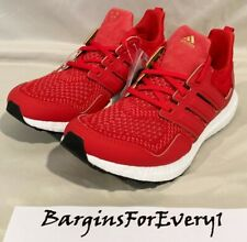 New Men's Adidas ULTRABOOST Eddie Huang CNY - Size 8 - Red/Black/Gold - F36426