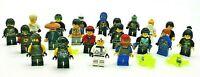 LEGO 24 x Ninjago Mini Figuren * siehe Bilder * 24 Minifiguren Ninjagago