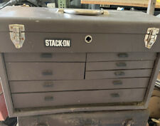 VINTAGE  STACK ON Metal MACHINIST TOOL CHEST BOX Seven Drawer