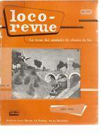 LOCO REVUE N°197 AUTORAIL PANORAMIQUE AU 1/86e / TRANSF. LOCO TELEX MARKLIN