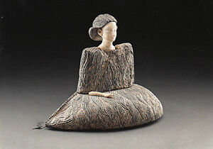 Kunstkarte / Postcard Art: Auf der Seite sitzende Prinzessin - ca. 2000 v. Chr.