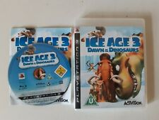 ICE Age 3: Dawn of the Dinosaurs (Sony PlayStation 3, 2009) Completo con Manual
