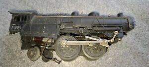 American Flyer Diecast #565 Locomotive for parts / restoration, Lot # 794