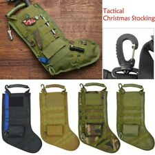 Military Tactical MOLLE Holiday Christmas Stocking w/ Handle Gift