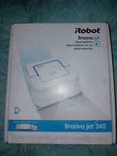 New listing Irobot braava jet 240 robot mop with mopping pads