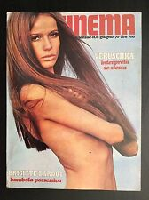 NEW CINEMA ° 6 DEL 1970 BRIGITTE BARDOT ELISABETH TAYLOR - STEVE MCQUEEN M5