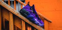 New Nike Air More Money QS Purple Men's Size 11 Shoes AQ2177 500