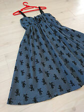axes femme Black rose Strap dress Houndstooth Summer Japan-M Hime&Gothic lolita