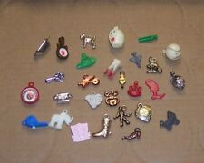 Reduced---Lot of Vintage Cracker Jack Gumball Toy Prizes, Charms ,Plastic
