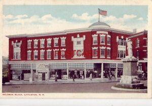 SALOMON BLOCK, LITTLETON, N.H.