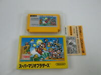 Super Mario Bros B With box and manual Famicom FC NES Japan Ver