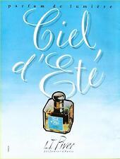 ▬► PUBLICITE ADVERTISING AD PARFUM PERFUME CIEL D'ETE L.T PIVER de 1960