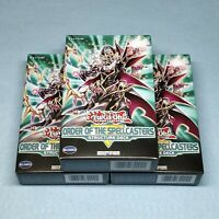 3x Yugioh Order of the Spellcasters 1st Edition Complete Deck Droll & Lock Bird