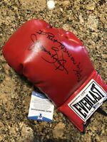 James Buster Douglas Signed Full Size Boxing Glove BAS COA W/RARE INSCRIPTION