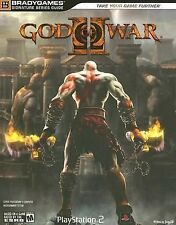 God of War II BradyGames Strategy Hint Guide Playstation 2 PS2 + Foldout