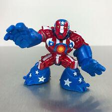 Playskool Marvel Super Hero Adventures DETROIT STEEL figure from Hall of Armor
