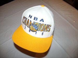 Golden State Warriors Hat 2015 NBA Champions adidas Snapback 20% Wool
