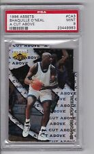 SHAQUILLE O'NEAL 1996 Clear Assets A Cut Above #CA3 PSA 9 Pop 1 none higher