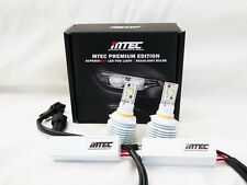 MTEC 6500K 9005 LED DRL + LED High Beam Bulbs for Honda Odyssey 05-15
