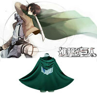 Shingeki no Kyojin Cloak Cape Clothe Attack on Titan Coat Costume Cosplay unisex