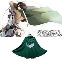 Shingeki no Kyojin Cloak Cape Clothe Attack on Titan Coat Cape Cosplay Costume