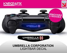 KNR2287 UMBRELLA CORPORATION | Dualshock 4 PS4 Lightbar Light Bar Decal DS4