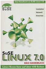 SuSe LINUX 7.0 - Handbuch, Konfiguration, Programme, CDs DVD