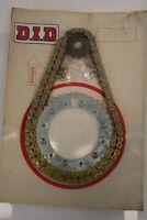 Kit catena/corona/pignone DID Chain/Sprockets set Honda XL 500 S 79-81