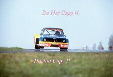 Walter Rohrl Schnitzer BMW 2002 TURBO GRUPPO 5 Norisring DRM 1977 fotografia 1